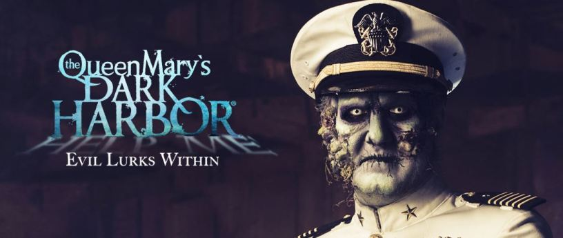 Queen Mary Dark Harbor Long Beach Halloween Event