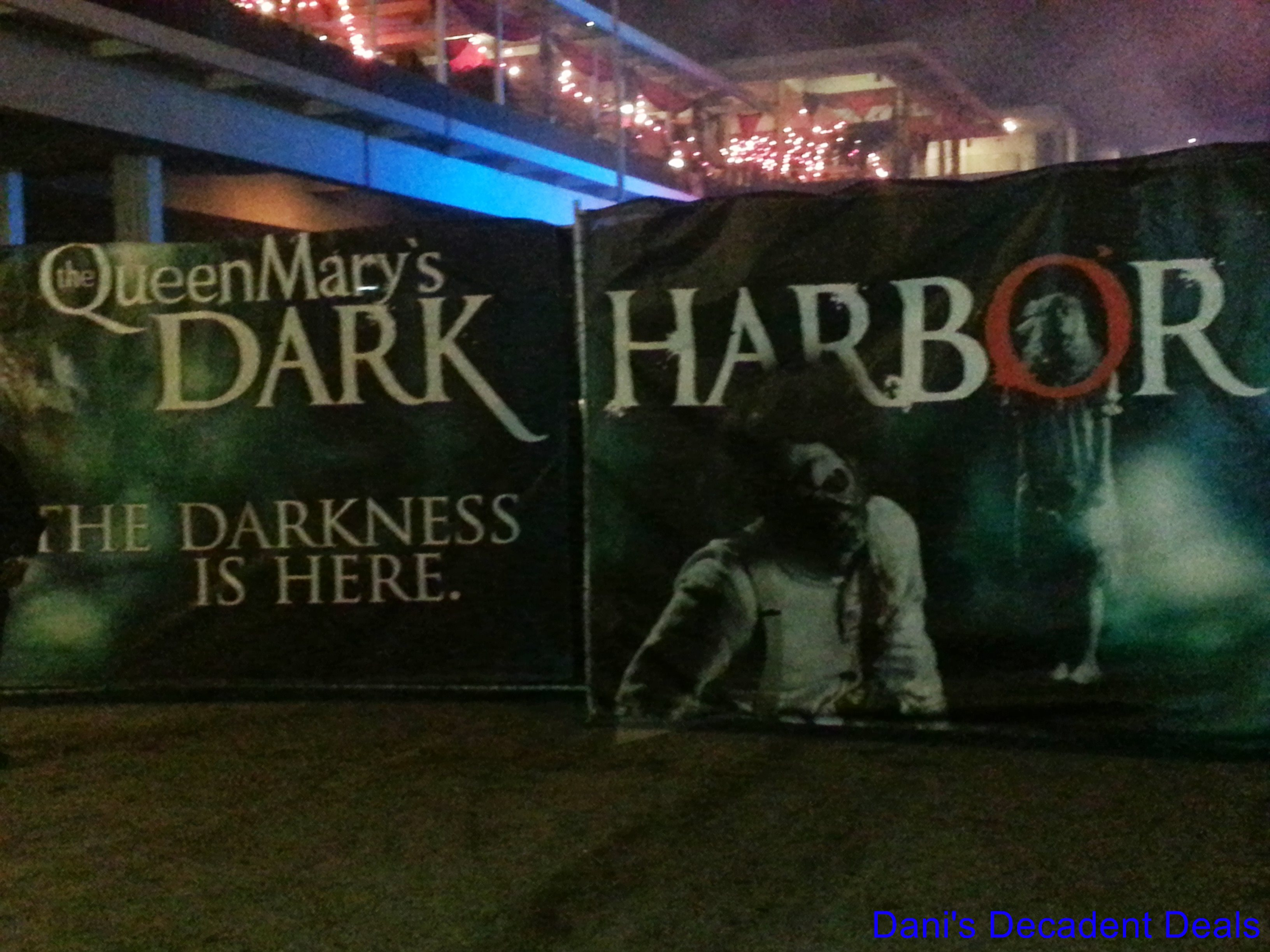 Queen mary dark harbor coupons