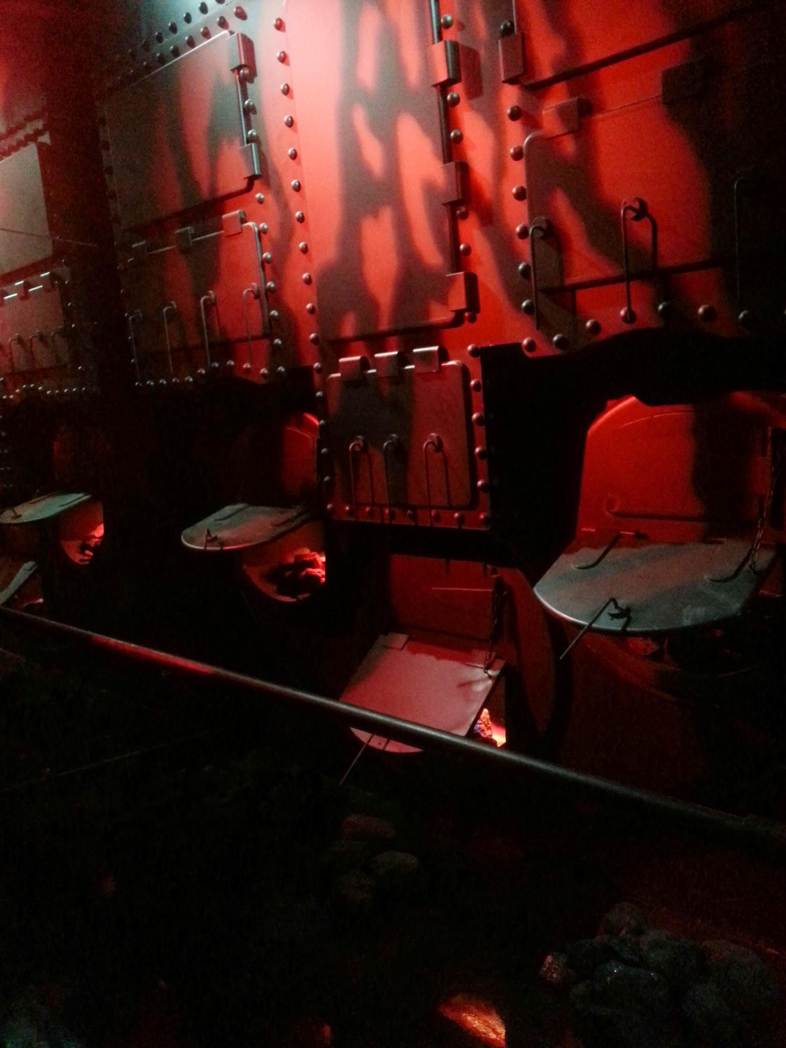 Titanic Engine Room Coal: Engine Room On Titanic