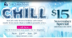 Queen mary, chill, queen mary chill discount tickets, Long beach
