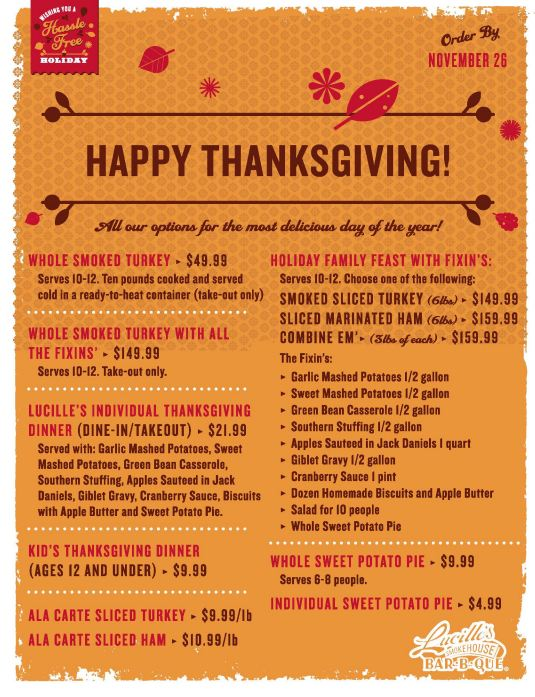 thanksgiving dinner order boston market