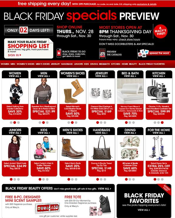 Macy coupons black friday 2018