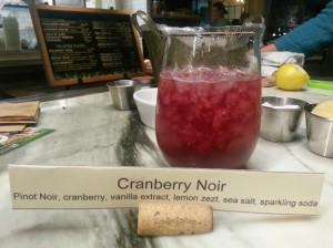 Cranberry Noir