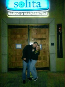 My love and I at Solita entrance