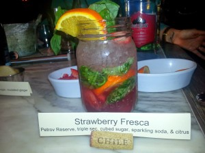 Strawberry Fresca Beverage