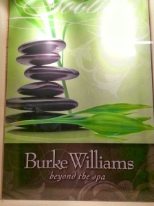 burke williams, anti aging facial, H2V, spa therapy