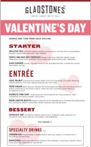 Valentine's Day, Valentines day dinner ideas, valentines gifts, valentine restaurants