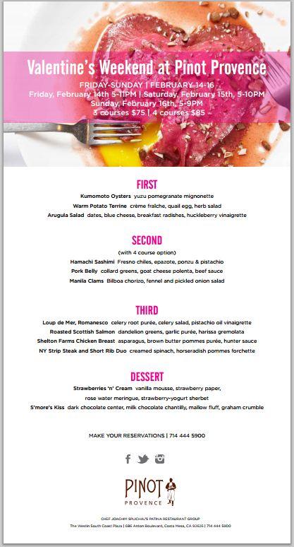 Valentine S Day Restaurant Meals And Deals 2014 Part 1 Dani S