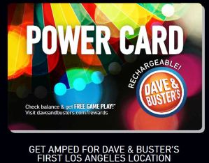 Dave and Busters, grand opening, los angeles, entertainment, video games