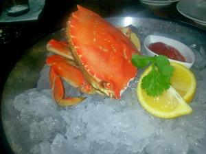 lark creek, fine dining, newport beach, dungeness crab