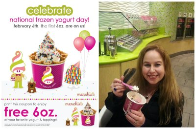 Menchie's, free frozen yogurt, national frozen yogurt day