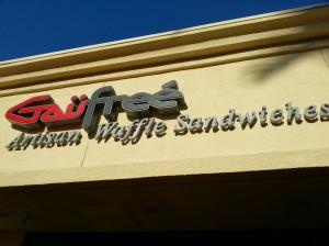 gaufree, artisan waffle sandwiches, irvine, belgian