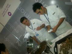 cancun food and wine festival, global tasting villagee, cooking, moon palace