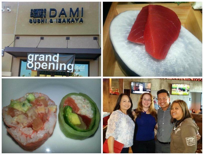 Dami sushi and izakaya, buena park, sushi