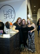 Lash spot spa, eyelash extensions, costa mesa