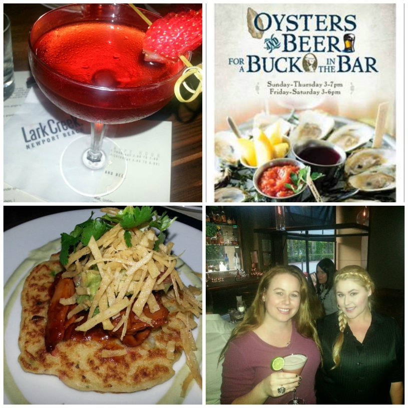 Lark creek, newport beach, restaurants, spring cocktails