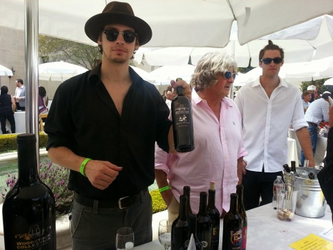 Vintage boutique food and wine event, Beverly hills, greystone mansion