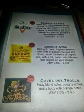The Globe OC, Garden Grove, Belgian Beer, gastropub