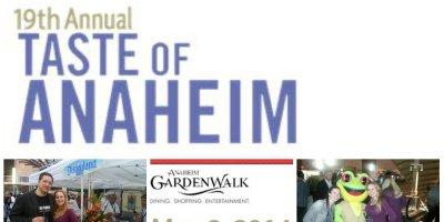 taste of anaheim 2014, garden walk, foodies