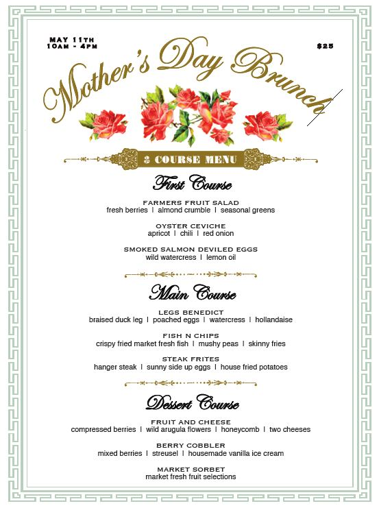 Mother's Day, brunches, restaurants, orange county