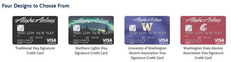 Alaska Credit Card Designs Dani S Decadent Deals
