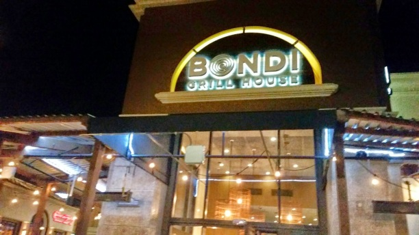Bondi grill house, huntington beach, australian food, south african food, bbq