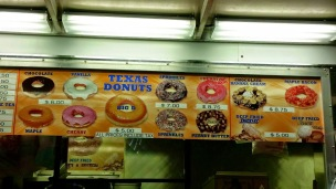 Texas Donuts Variety of Goodies