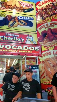 The Totally Fried guys at Chicken Charlie's