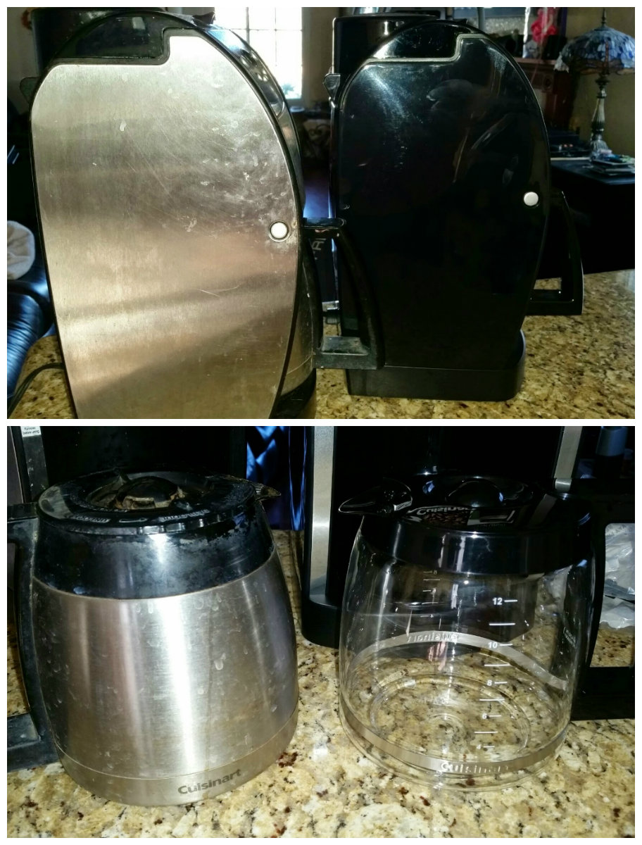 Coffee Maker Thermal Carafe Vs Glass : Cuisinart Coffeemaker Lasts 10 Years and is a Great Price Dani s Decadent Deals