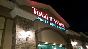 wine tasting for free, total wine and more, wine