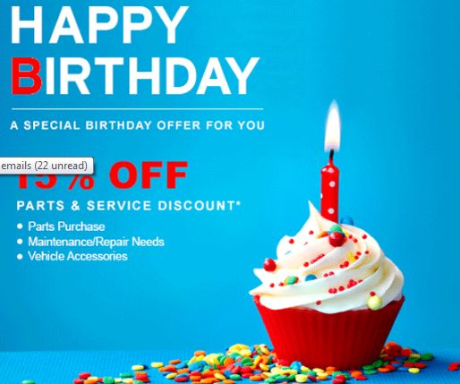 Atlantic Auto Group >> Birthday Deals and Freebies from Restaurants and Travel ...