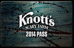 Knott's Scary Farm, Knott;'s Berry Farm, Halloween events, orange county