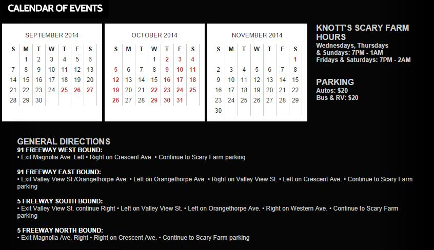 knotts scary farm knotts berry farm halloween events orange county - Knotts Berry Farm Halloween Tickets