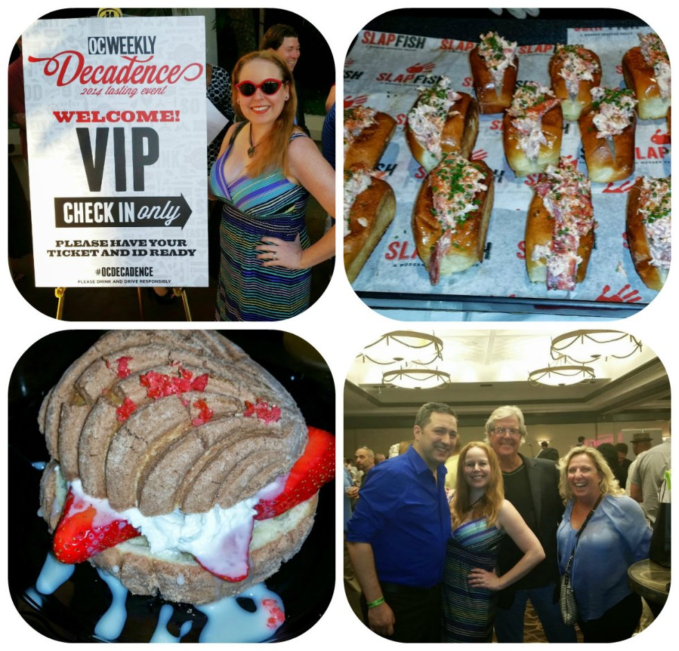 OC Weekly Decadence Event, Costa Mesa Hilton, Orange County Restaurants