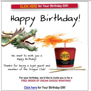 birthday deals, freebies, restaurants, travel