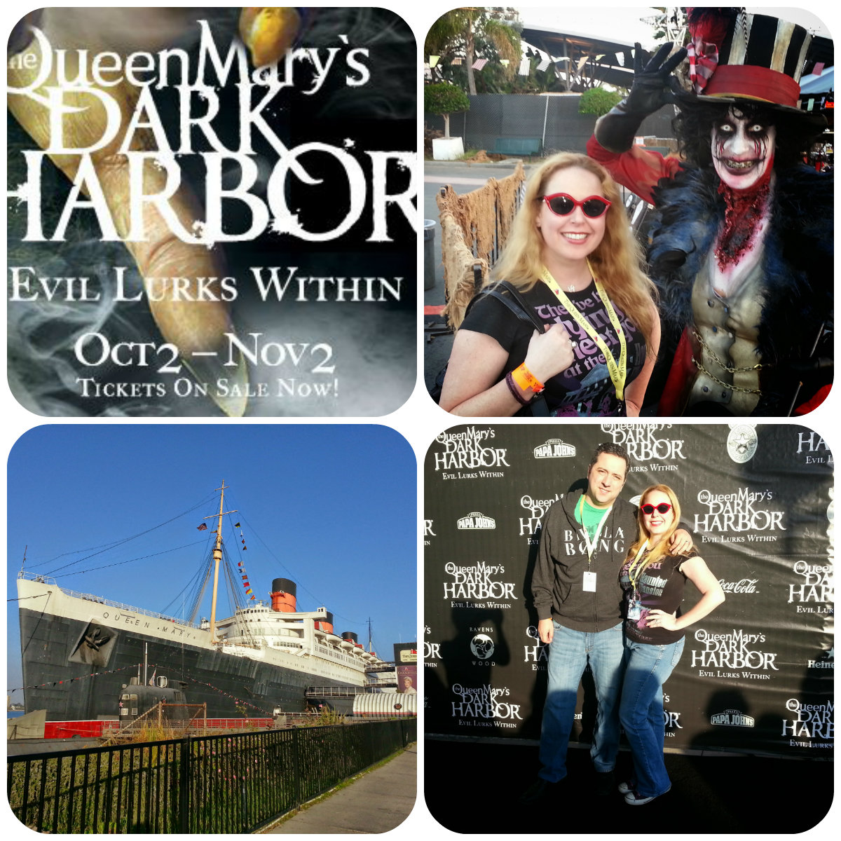 Queen Mary Dark Harbor, Halloween, Long Beach
