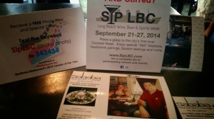 sip lbc, wine beer and spirits week, long beach, restaurants
