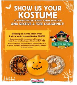 halloween coupons, halloween freebies, halloween 2014
