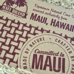Maui sugar raws, maui sugar recipes, maui, hawaii