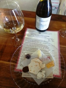 Allison Levine and Please The Palate_Dierberg cheese pairing - Santa Barbara Vintner's Association Photo Credit