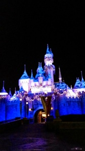 Gorgeous Castle - Disneyland Holiday Magic