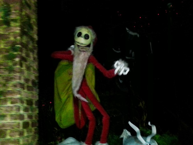 Jack Skellington Haunted Mansion Nightmare Before Christmas - Disneyland Holiday Magic