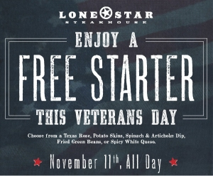 Veteran's Day Deals, Freebies, deals, 2014
