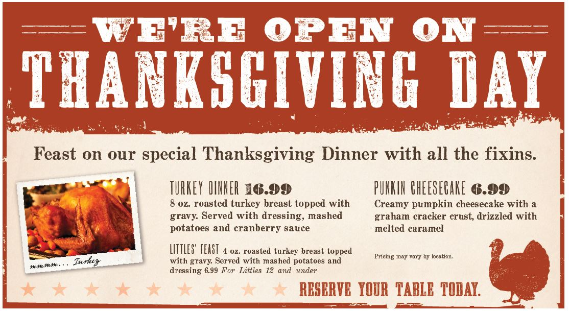 Thanksgiving Dining In Orange County And A Few National Locations 2014 Dani