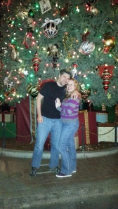 My love and I - Disneyland Holiday Magic