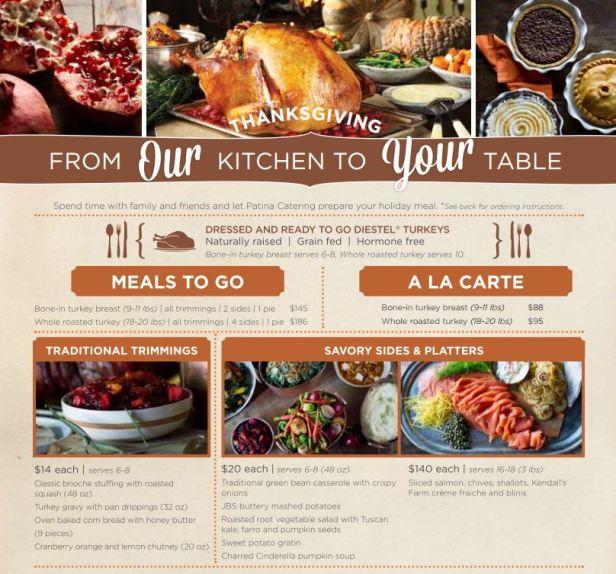 Thanksgiving dining 2014, restaurants thanksgiving, orange county