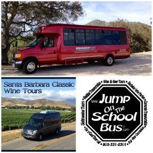 Transportation around wine country - Key to Wine Country Event, Santa Barbara County