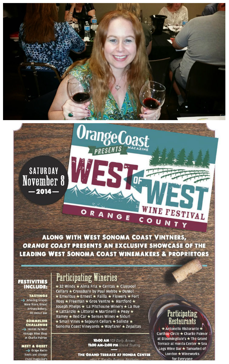 west of the west wine event, wow, honda center, discount code
