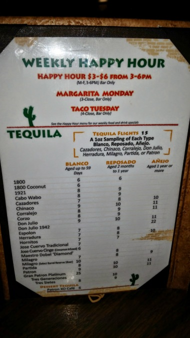 Happy Hour Menu - Mi Casa Mexican Restaurant Costa Mesa