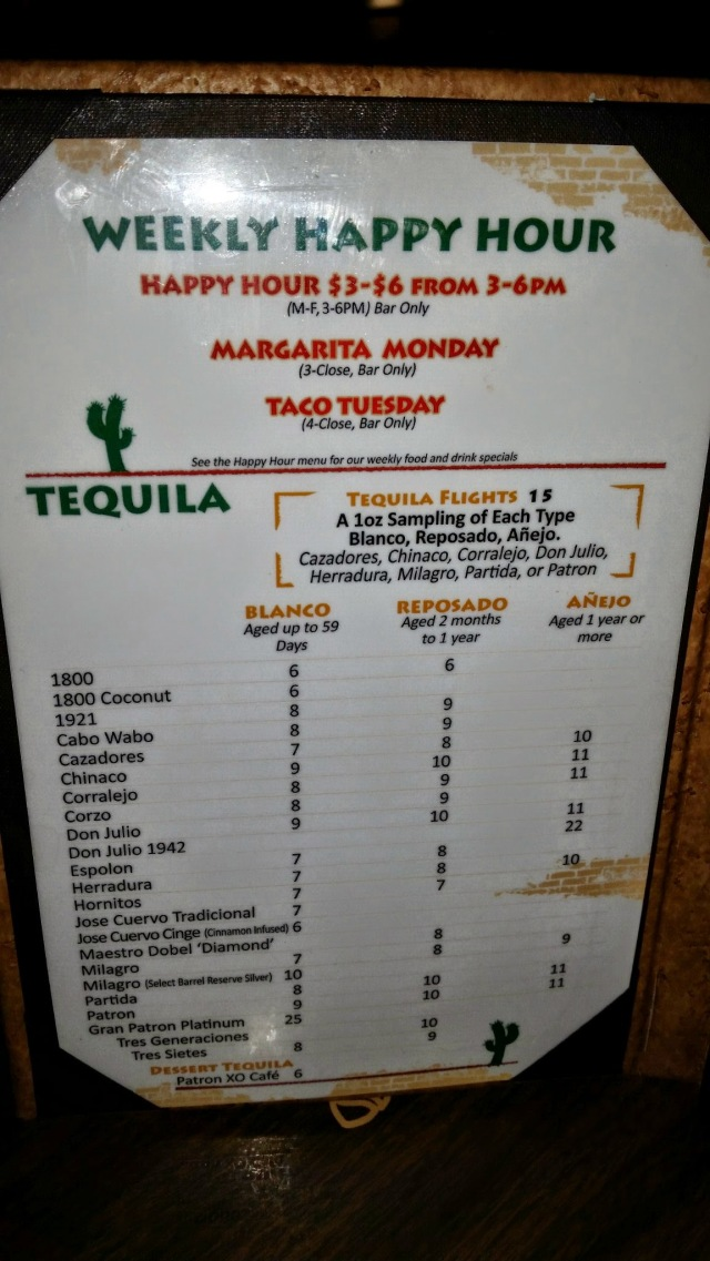 Happy Hour Menu – Mi Casa Mexican Restaurant Costa Mesa ...
